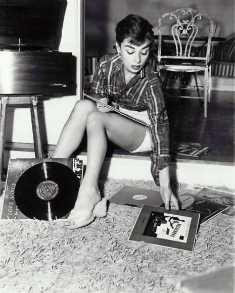 audrey-hepburn-records