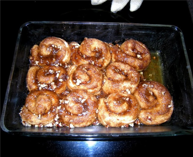 Cinnamon Rolls from canned biscuits | Recipes | Pinterest