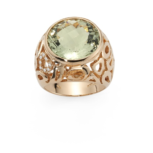 valentine gold ring
