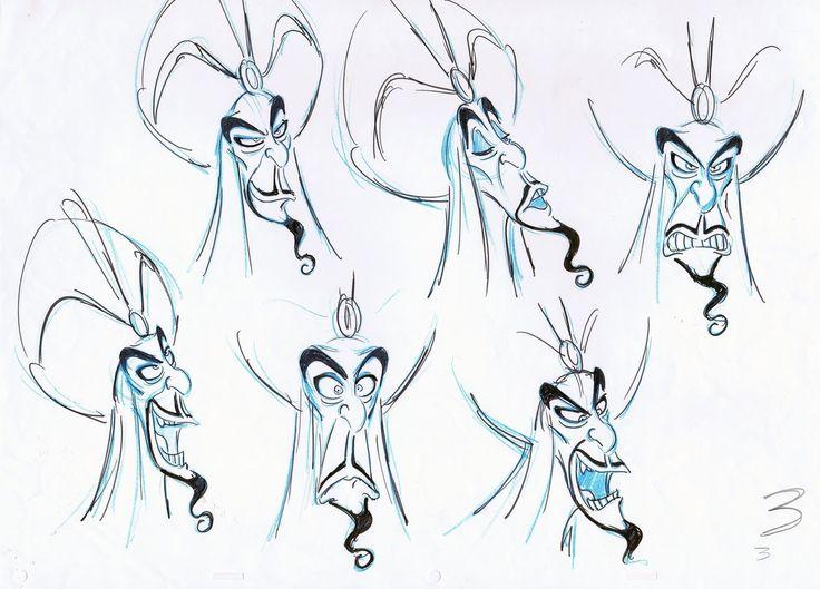 Disney Aladdin Character Design : Jafar aladdin character design pinterest