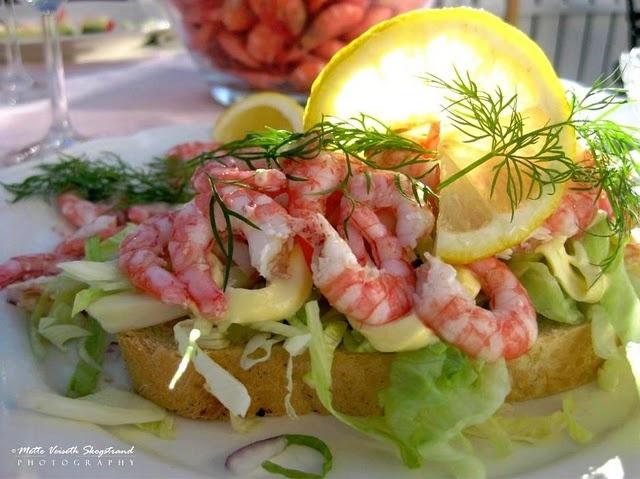 shrimp sandwich | Norge | Pinterest