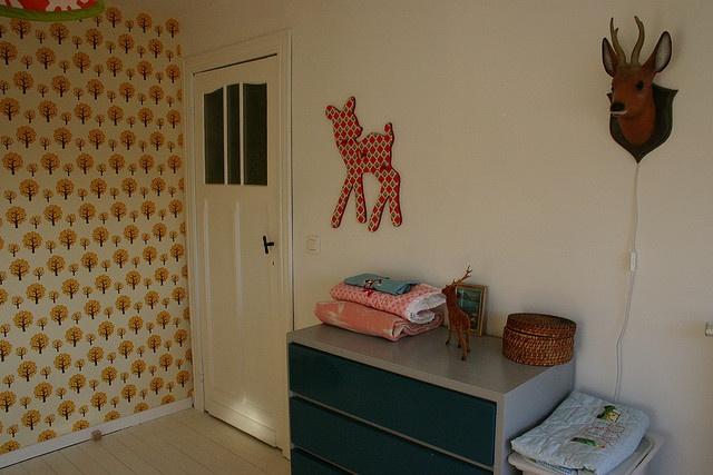 Kinderkamer  Kinderkamer thema hertje en bambi ★ kids room theme ...