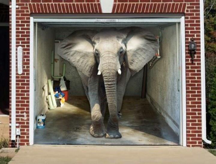 Painted garage door garage pinterest for Painted garage doors pictures