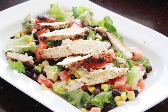 Southwestern Chicken Salad | Food - Salads | Pinterest