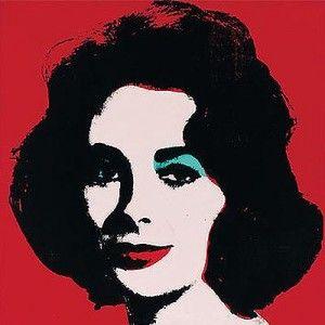 """Andy Warhol """"Liz Taylor"""""""