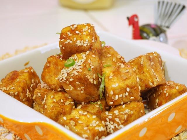 Sesame Tofu | Food | Pinterest