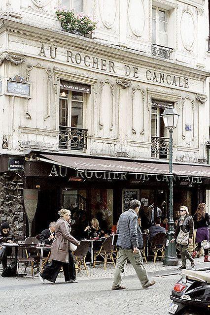 Au Rocher De Cancale ... Paris