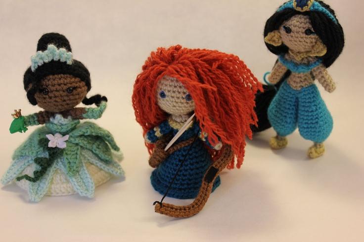 Designer Crochet Amigurumi Patterns Merida Warrior Princess : Pin by Christine McCarty on Zoe Amelia -- Wishlist Pinterest