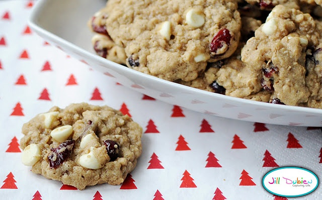 Cranberry, Pistachio And White Chocolate Chip Oatmeal Cookies Recipes ...