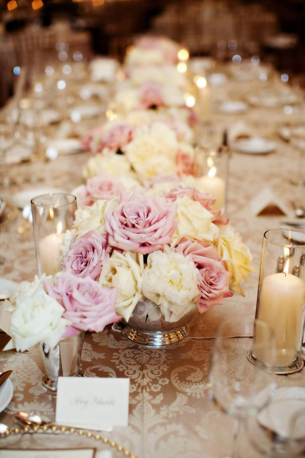 Pink Rose Centerpiece : Pinterest discover and save creative ideas
