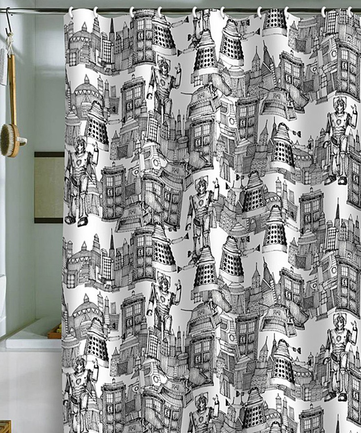 ... Toile de Jouy Shower Curtain/ Deny Designs designed by Sharon Turner