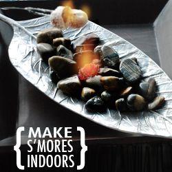 how to cook indoor smores | Make Indoor S'mores.