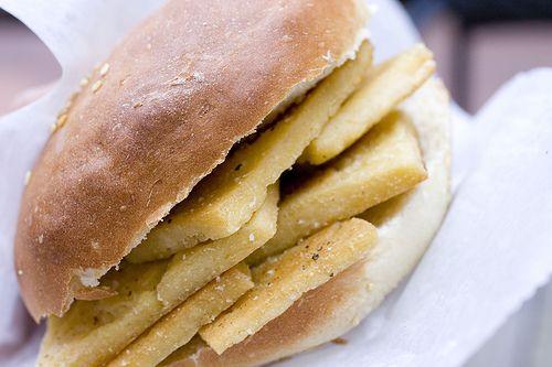 Pane e Panelle (Panelle Sandwich) | Food: Meals | Pinterest
