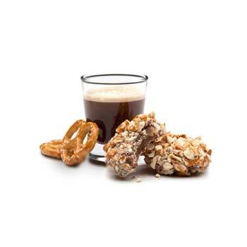 beer & pretzel caramels by truffle truffle - I wonder how hard it ...