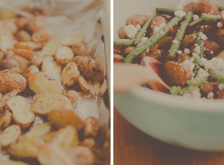fingerling-potato-salad | easy recipes | Pinterest