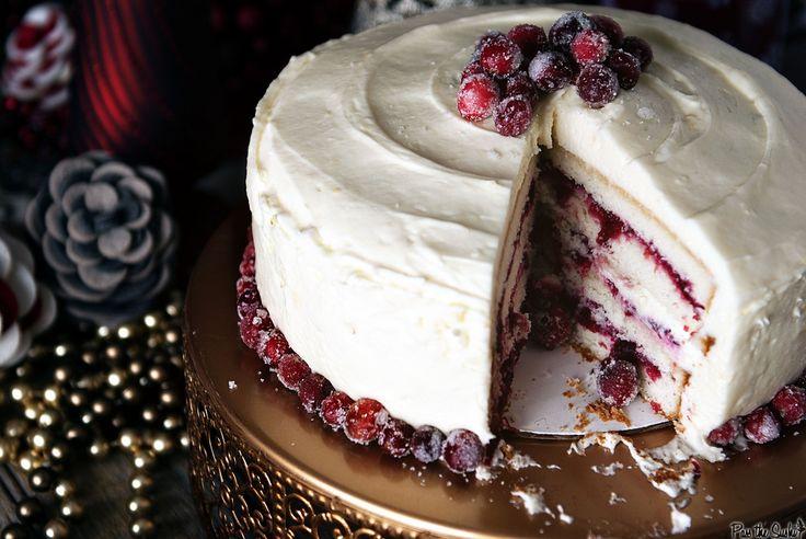 Holiday Party Tips and a Killer Cranberry Vanilla Bean Cake   Recipe