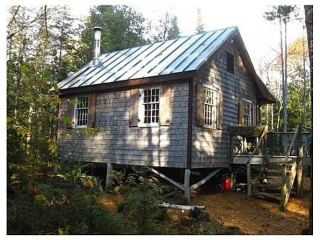 Off the grid cabin for sale freedom maine