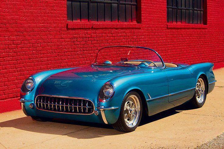 1953 55 corvette