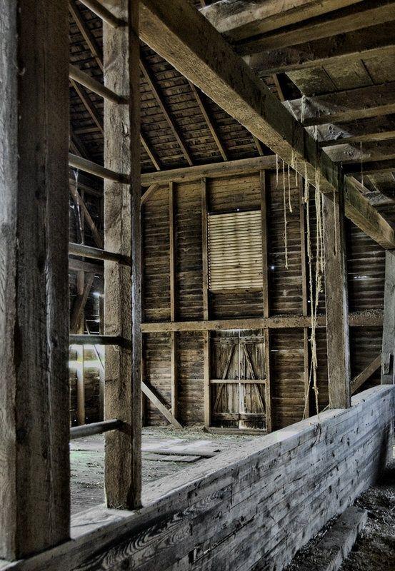 Barn loft ladder barns pinterest for Barn with loft