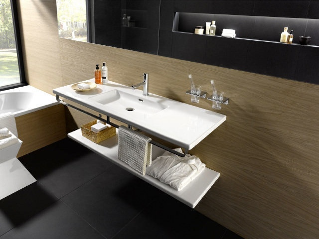 Integrated Bathroom Sink : Integrated sink