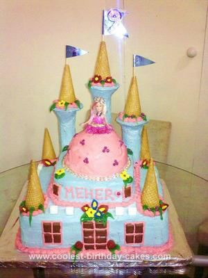 coolest homemade castle cakes