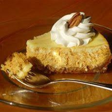 Marbled Pumpkin Cheesecake Recipe | Homemakin' | Pinterest