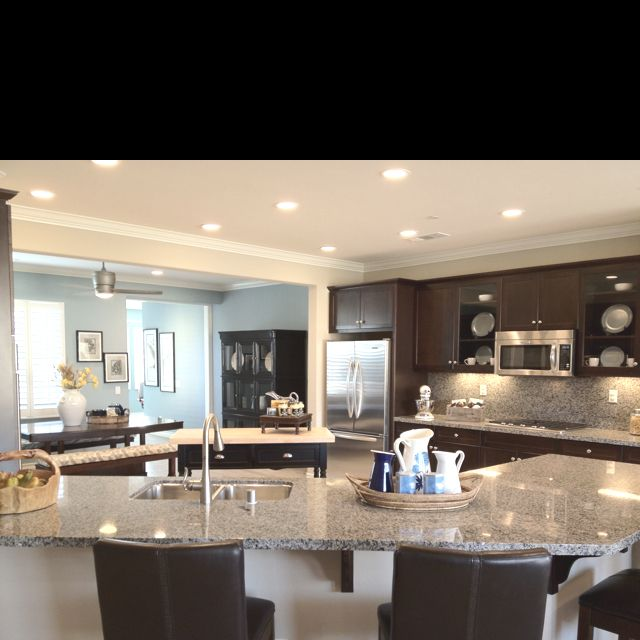Amazing model home kitchen kitchen pinterest for Model kitchen photo