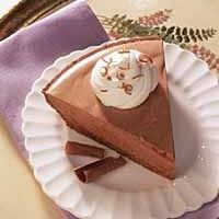 Chocolate Chiffon Pie | Yes, I Have A Sweet Tooth! | Pinterest