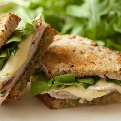 Turkey and Brie Pesto Sandwich | Recipes to try | Pinterest