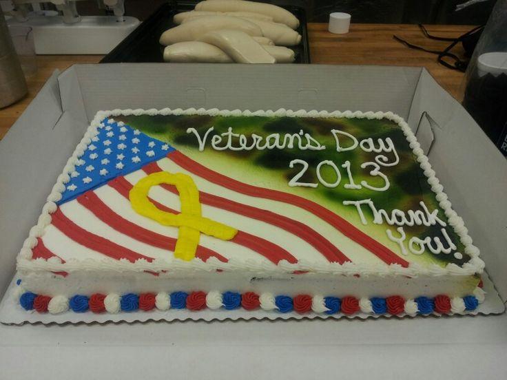 veterans day cake ideas
