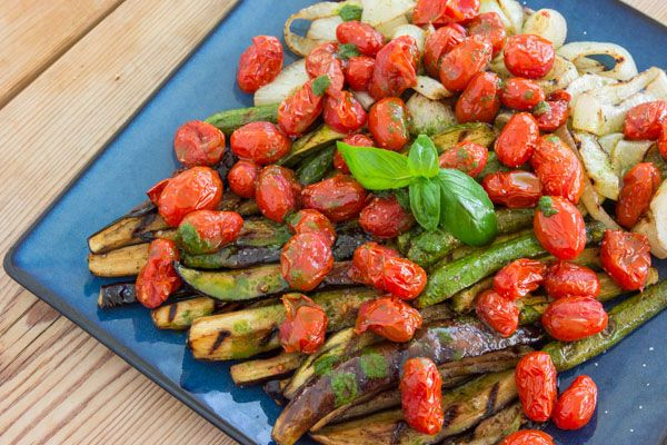 Grilled Ratatouille Salad recipe on PBS Food Lokking So God I SO want ...