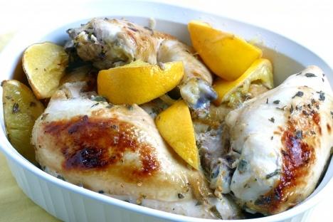 citrus-marinated roasted chicken | om nom nom | Pinterest