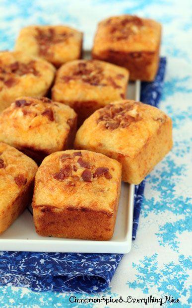 Bacon Cheddar Corn Muffins | Recipe