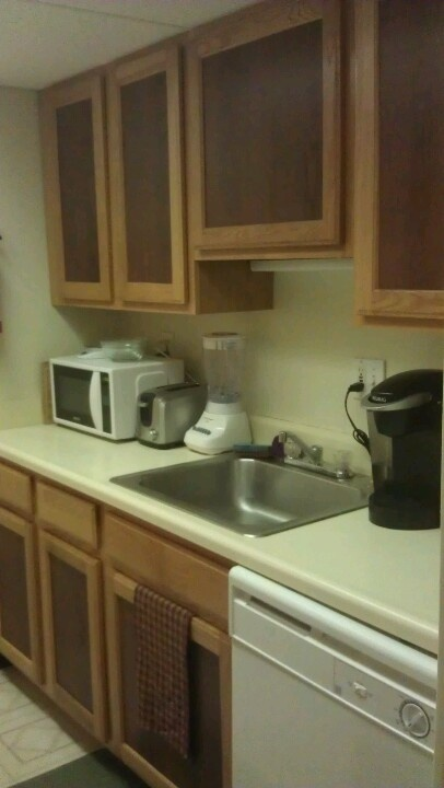 CHEAP AND EASY KITCHEN MAKEOVER Fix Up Dull Cabinets With Contact