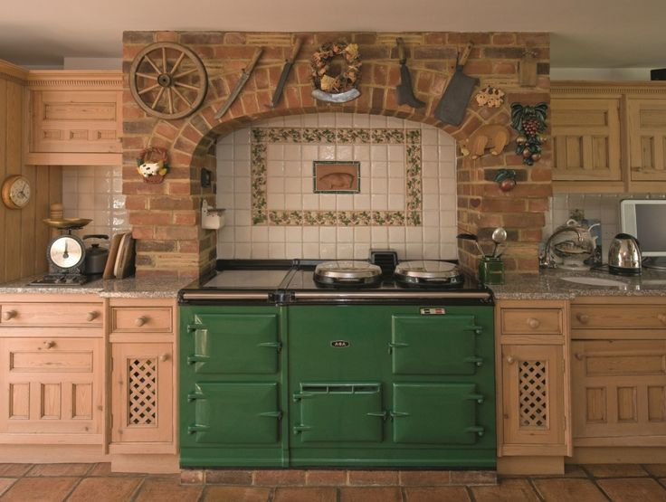 Green aga google search stuff for the home pinterest for Kitchen designs with aga cookers