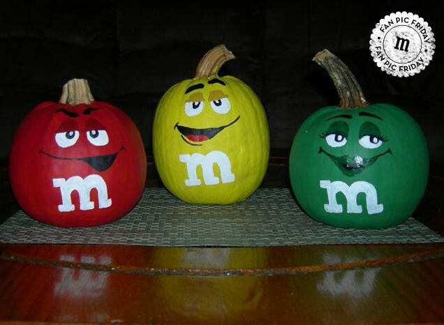 m m pumpkins pumpkin ideas pinterest
