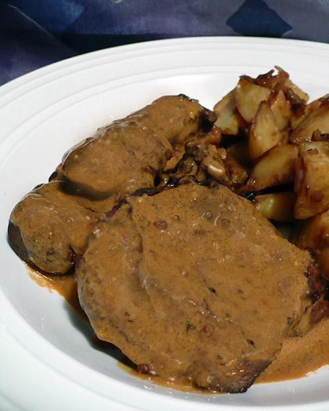 Beef Tenderloin With Mustard Sauce | Recipe