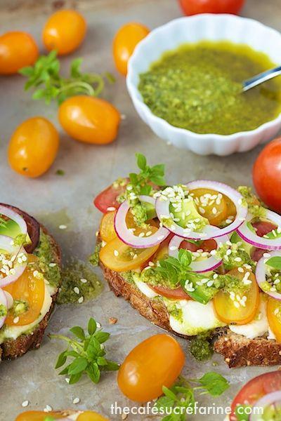 Tartines   bruschetta.. Crostini and tartines   Pinterest