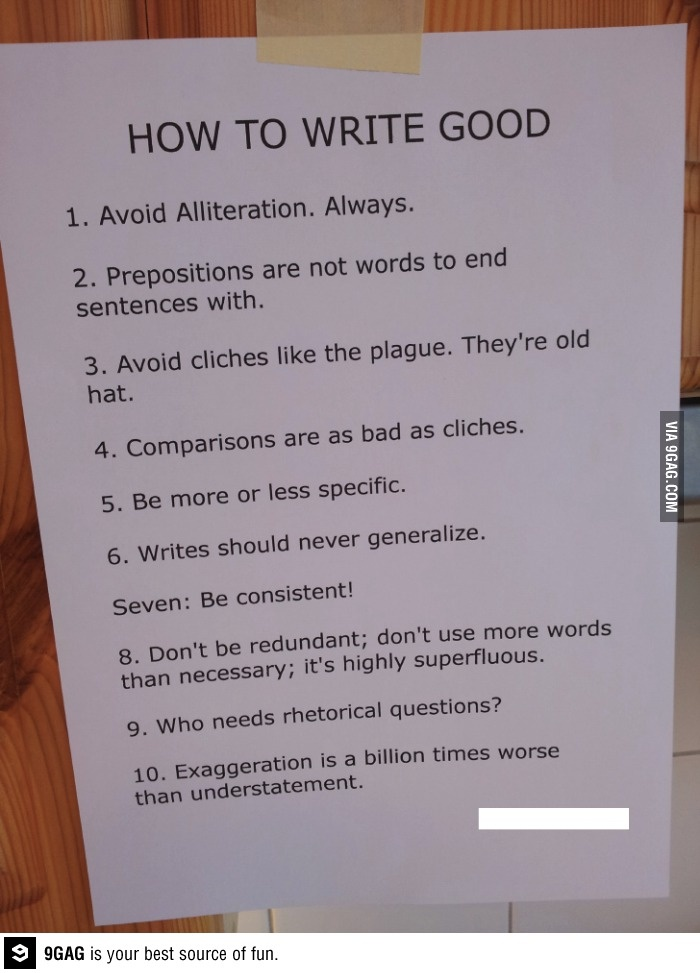 how to write good speech