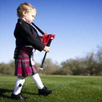 Scottish Kilts For Children