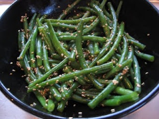 Sesame Green Beans | Recipes | Pinterest