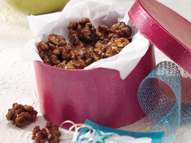 Maple-Glazed Walnuts | Recipe