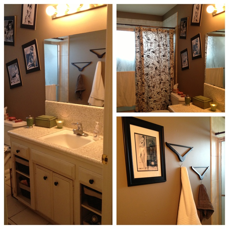 pin up girl style bathroom pin up bathroom pinterest