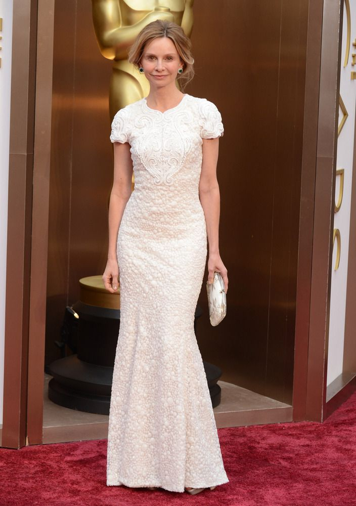 2014 Oscars Red Carpet - Calista Flockhart
