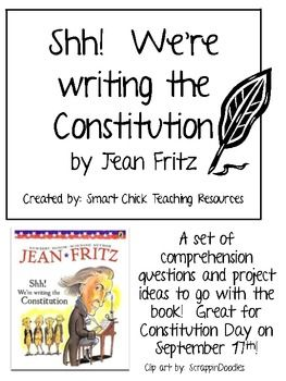 """Shh! We're writing the Constitution"""", Comp. Questions and Projects"""