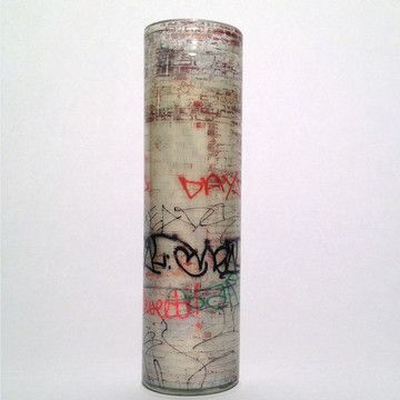 graffiti candle