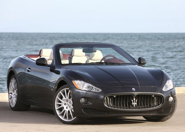 I really do love the Maserati. Gorgeous. Convertible, not so much, but she's still beautiful.