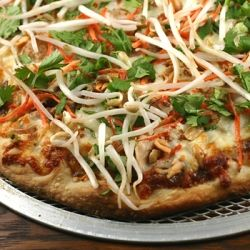 Thai Pizza   Pizza, Flatbread & Stromboli!   Pinterest