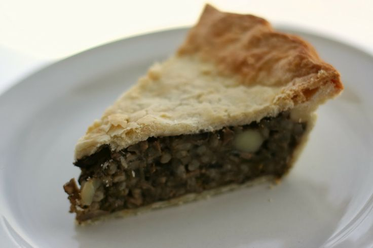 Mushroom and Barley Tourtière | Budget Dinners | Pinterest