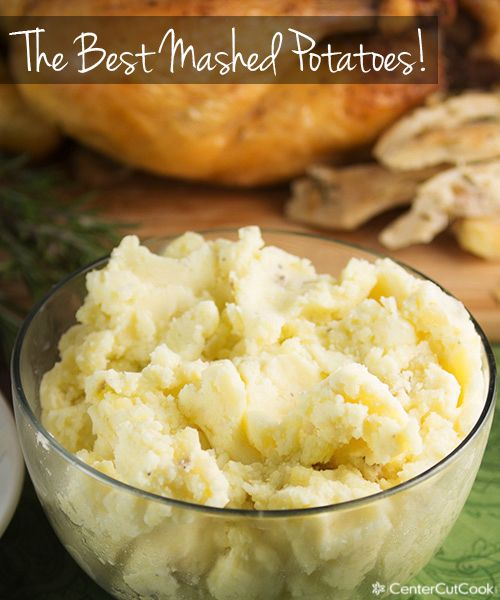 The Best Mashed Potatoes ~ for a change try chives or garlic